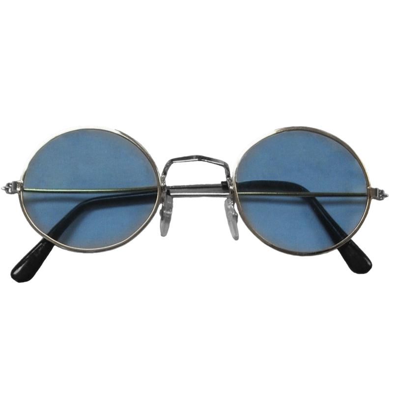 Blue Lennon Style Sunglasses 1096