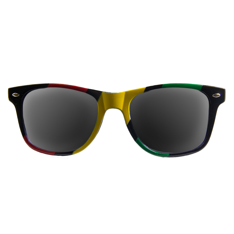 Rasta Wayfarer Styles Vintage Sunglasses 7150