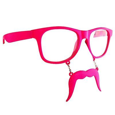 Incognito Sunglasses Pink Mustache Wayfarer 7098