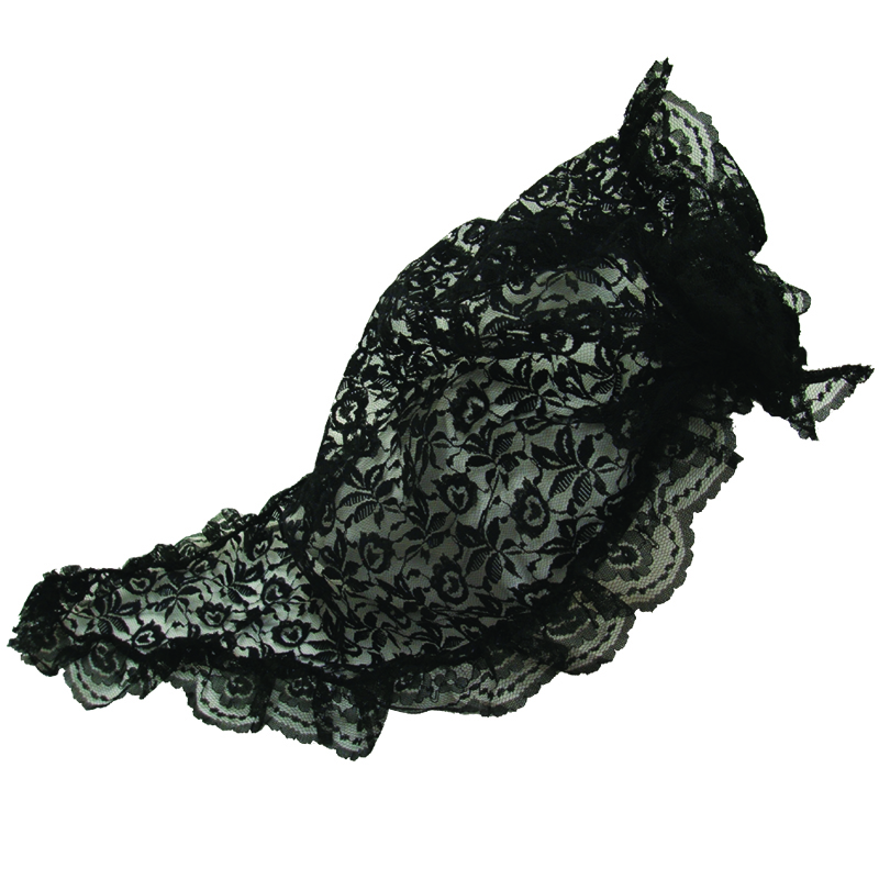 Black Spanish Mantilla 1497
