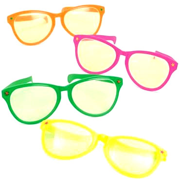 Jumbo Sunglasses Mixed Colors Dozen 7122