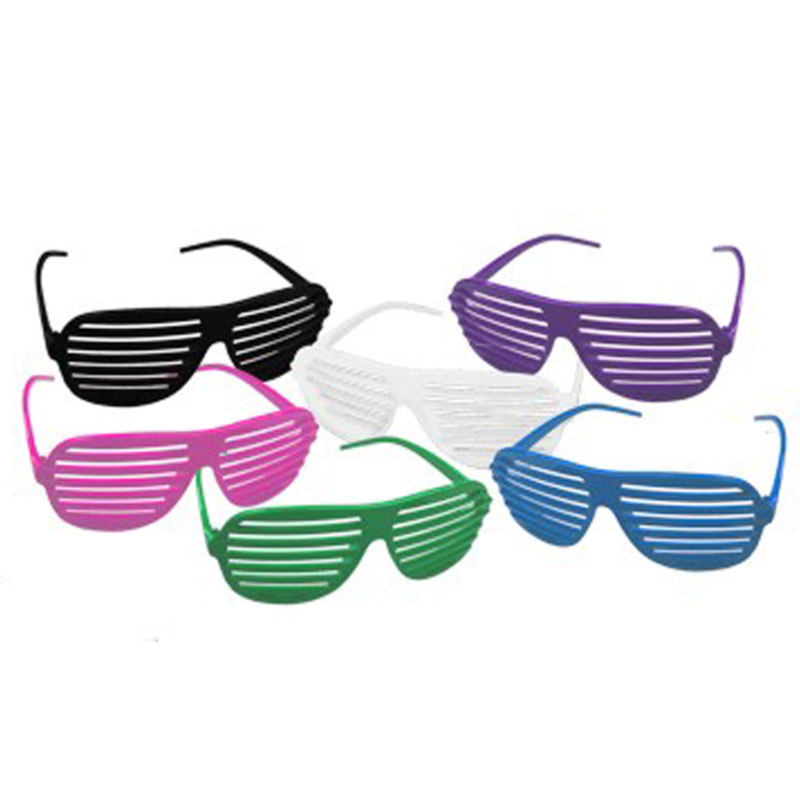 DOZEN Shutter Shades Mix Colors 1160